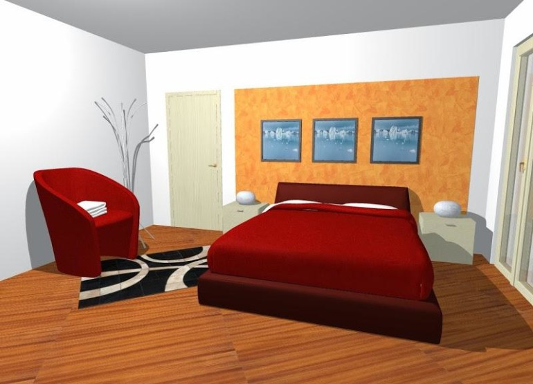 Awesome Pink Bed room Chair In Trendy Style With Crimson Duvet Cowl Also Black Rug On Wood Floor Additionally Body On The Wall plus Drawer Desk The Bedside