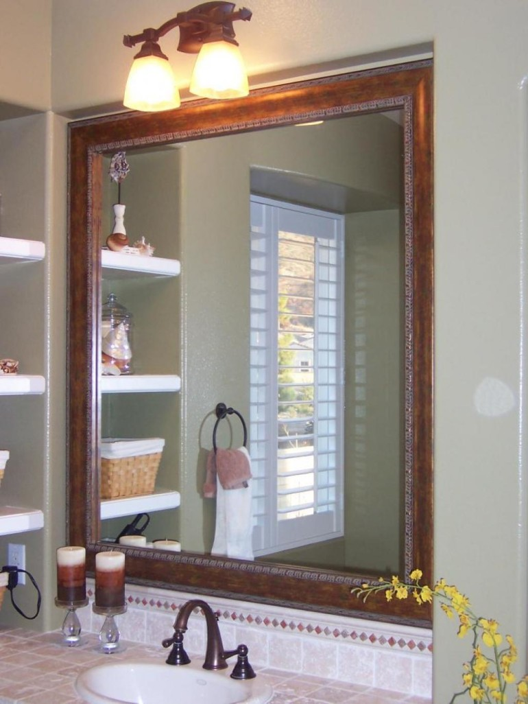 Some bathroom mirror ideas that you should know homesfeed for Bathroom mirror ideas