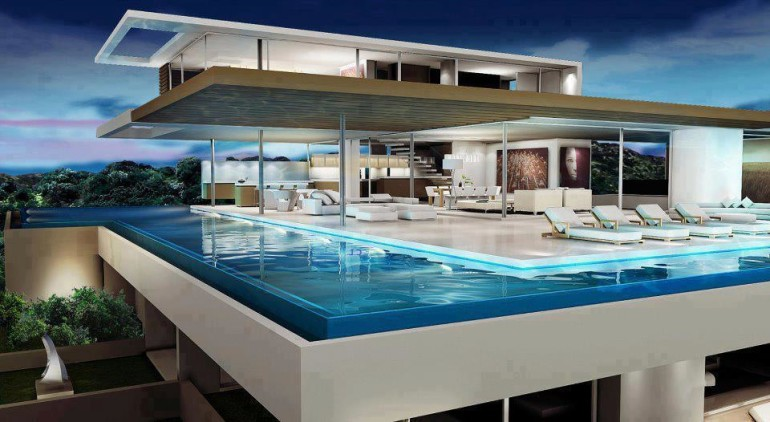 Get to know more about swimming pool designs homesfeed for Swimming pool room ideas