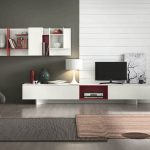 beautifull-minimalist-living-room-red-and-white-cabinet-red-minimalist-table-red-and-black-fur-rug-minimalist-puffy-chair-beautiful-floor-lamp-classict-jar-32inch-widescreen-televition-modern-white-curtain-glasses-bay-window