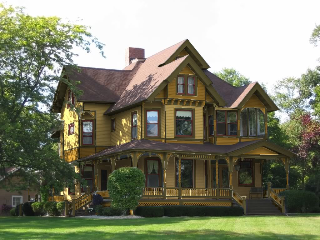 Exterior paint schemes and consider your surroundings for House visualizer