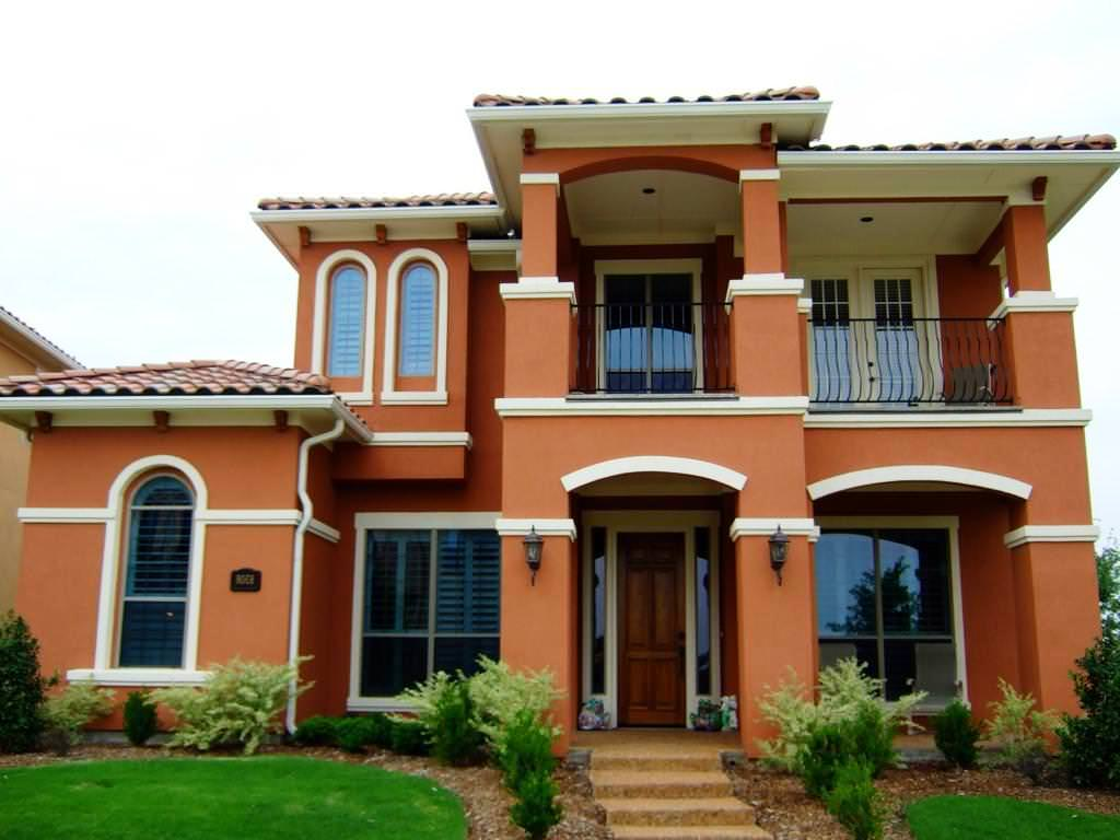 Exterior paint schemes and consider your surroundings for Exterior home accents