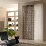 Elegant Wood Shelves Nook And Plant Indoor Ideas Awesome White Brown Curtain Design For Elegant Bedroom Inside Design Additionally Black Chair and Brown Fur Rug