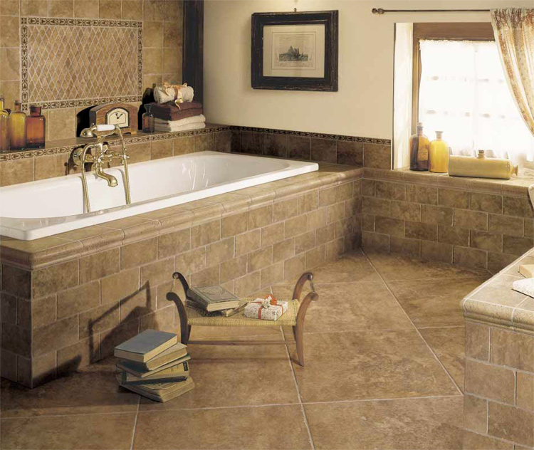 Lavatory Incredible Lavatory Floor Tile Ideas White Whirlpool Tub Brown  Flooring Design Fantastic Bathroom Flooring Tile. The Most Suitable Bathroom Floor Tile Ideas For Your Bathrooms
