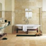 Lavatory luxury Modern Style Whirlpool Tub Toilet Ground Tile Ideas Vanity Design Fantastic Toilet Flooring Tile Concepts with Robust Safety