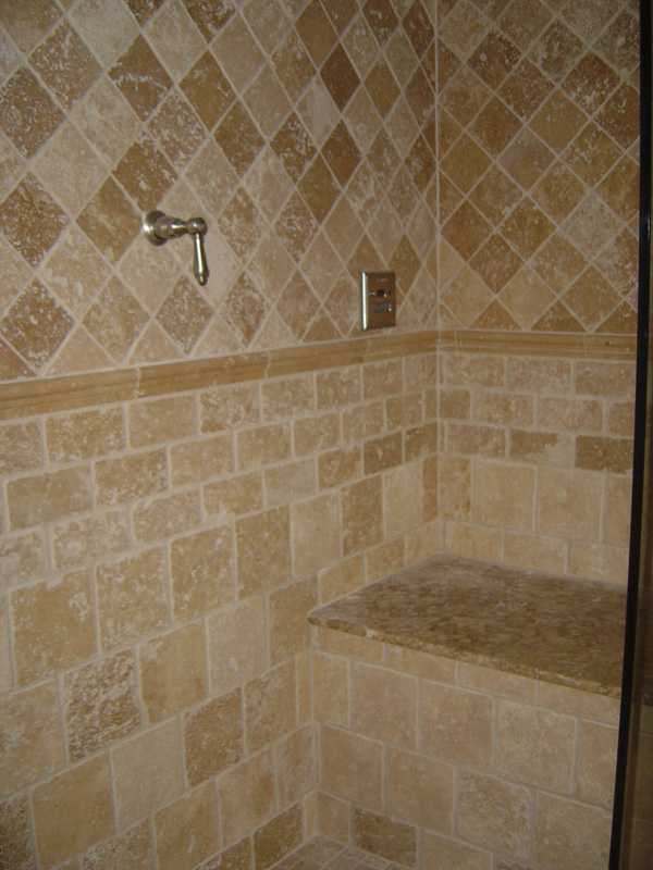 The most suitable bathroom floor tile ideas for your for Brown tile bathroom ideas