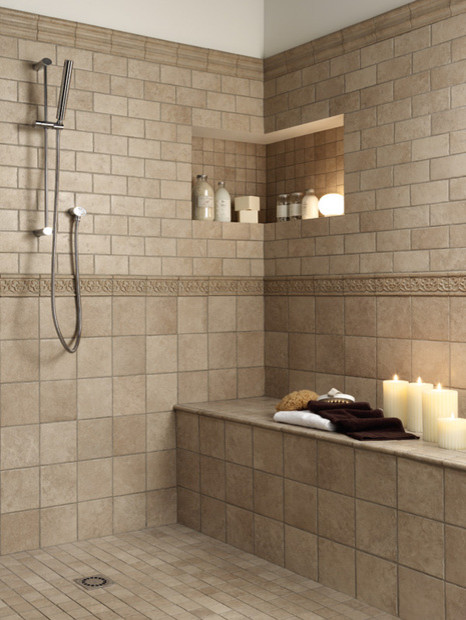 The most suitable bathroom floor tile ideas for your for Traditional flooring