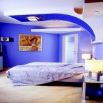 Trendy Design Ideas With double Arch Lamp Design White and blue Wonderful Coloration Ornament Design