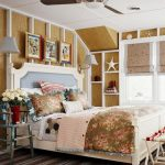 amazing beach bedroom theme comfy chrildren bed brown fur rug wooden wall double floor lamp for bedroom