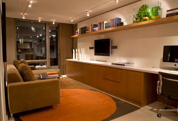 Stylish basement apartment ideas with modern and chic for Basement apartment kitchen ideas