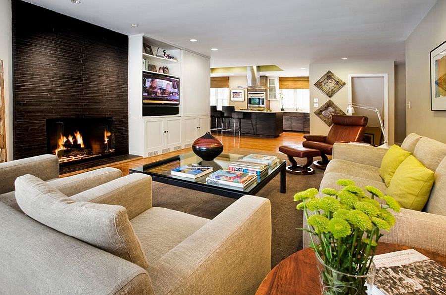 10 simple masculine living rooms that complement your home decoration homesfeed - Contemporary living room decorating ideas to put your heart and soul in it ...