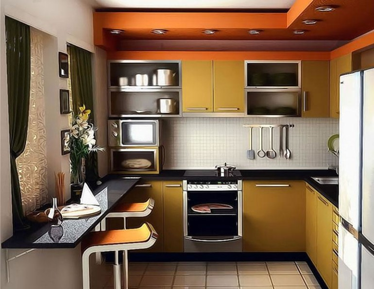 Some Smart Ways To Create A Small Kitchen Design