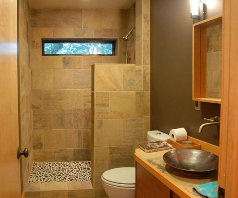 Simple home bathroom designs