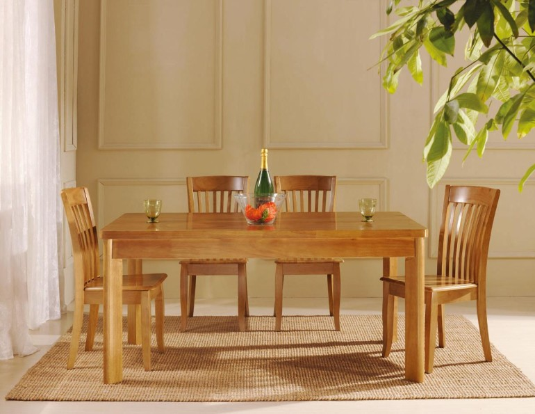 Dining room table sets and consider your budget homesfeed for Basic dining table
