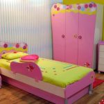 beautiful Yellow Wall Painting also Blue Stripes Painting Shades Pink Shade Women Bed room Ideas With Make-up Table With Mirror