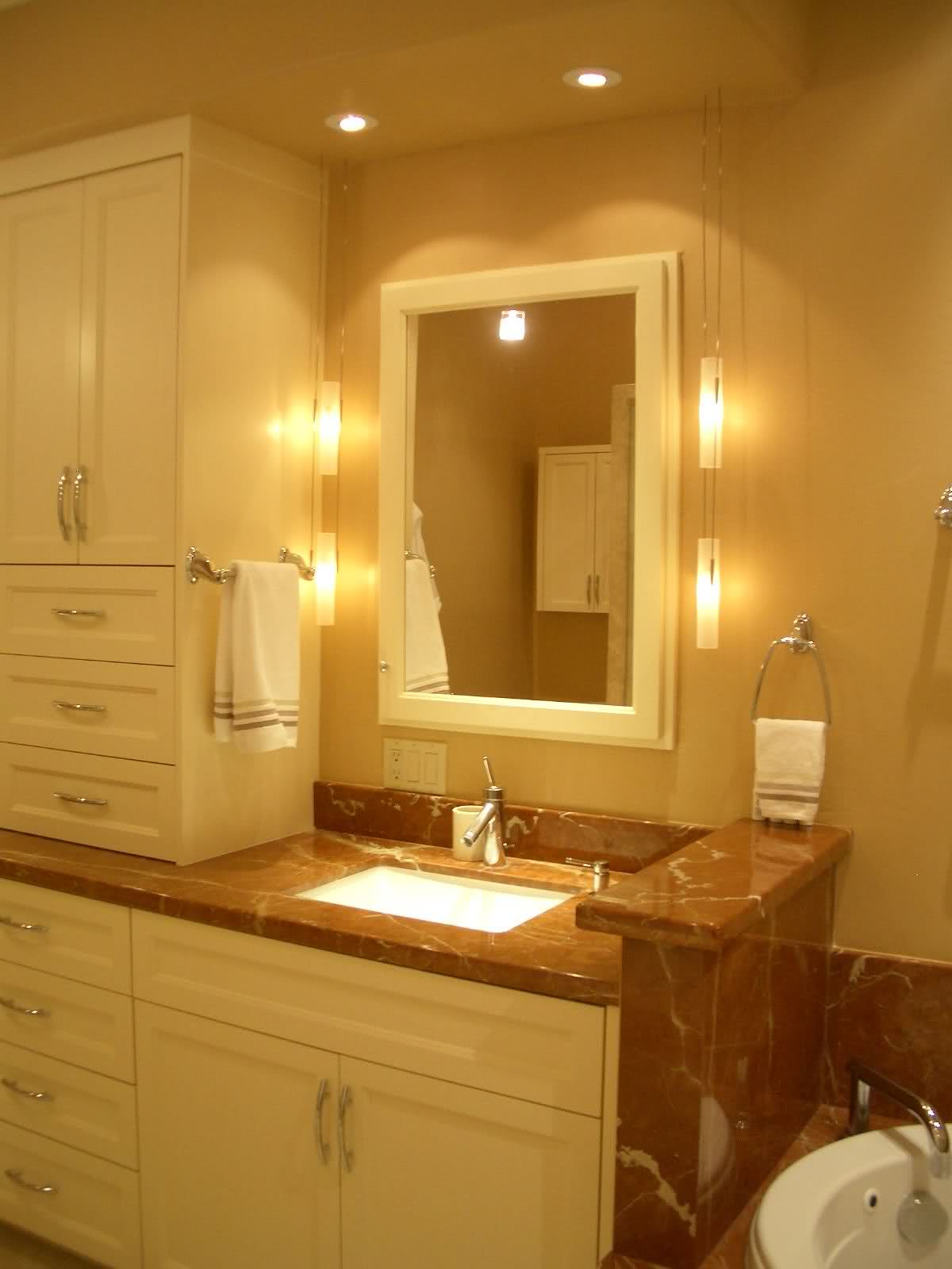 perfect bathroom lighting ideas | homesfeed