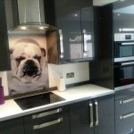 black gloosy kitchen cabinets black glossy modular design of oven and refrigerator white marble kitchen countertop steel smoke suckers picture of dog in glass splashback glass splashback design
