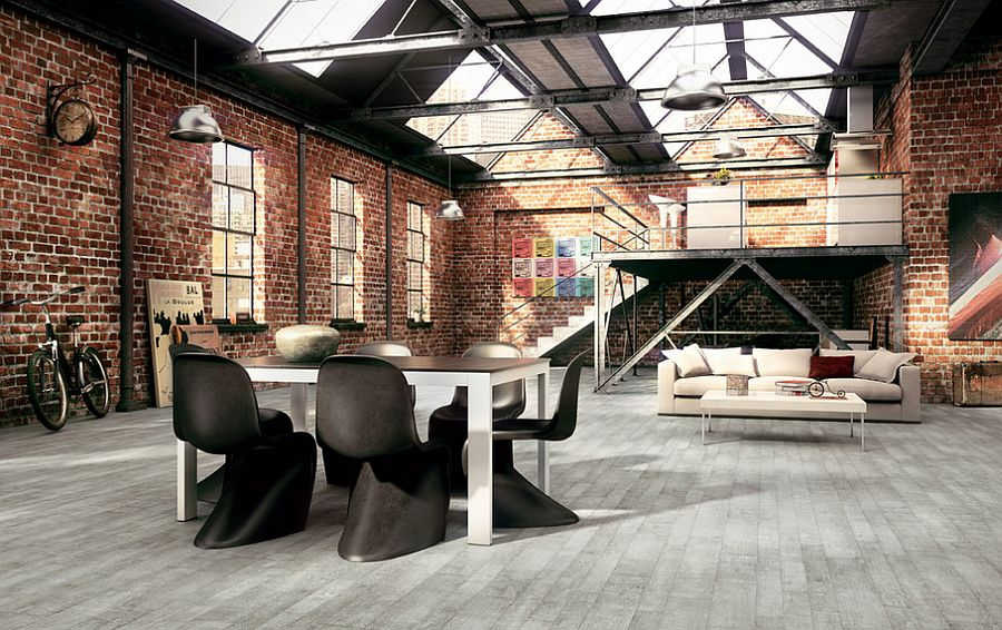 13 Industrial Dining Room Design Ideas | HomesFeed