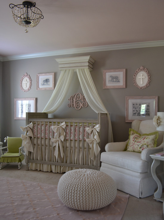 Baby girl nursery room decorating ideas homesfeed Baby girl decorating room