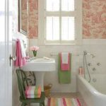 cute Small Area Tub Room Decoration For beautiful Small Modern Home Pink bathroom Rug