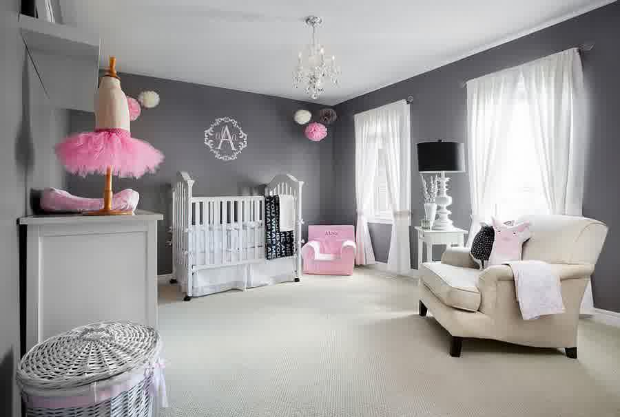 48 Playful Pink Nursery Room Ideas For Your Baby Girl HomesFeed Simple Baby Room For Girl