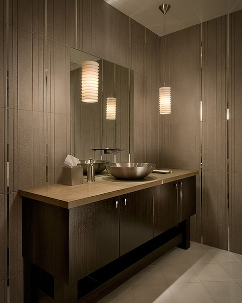 Large Wall Mirror Design Also Minima Bathroom Lighting Idea Feat Stylish Shower Without Door Plus