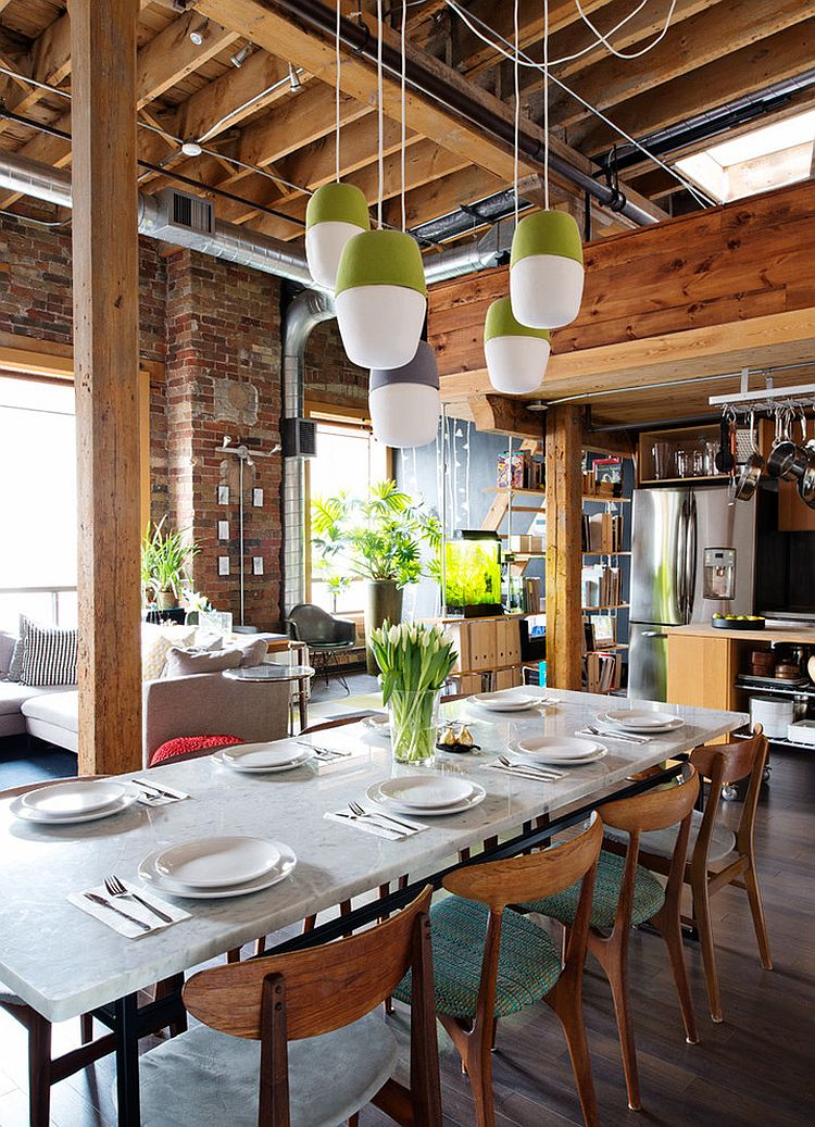 13 Industrial Dining Room Design Ideas - HomesFeed