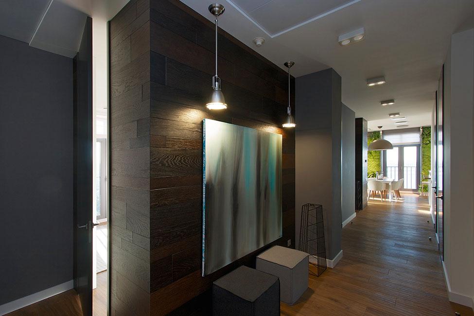Exquisite Biotic Vertical Garden In Family Apartment