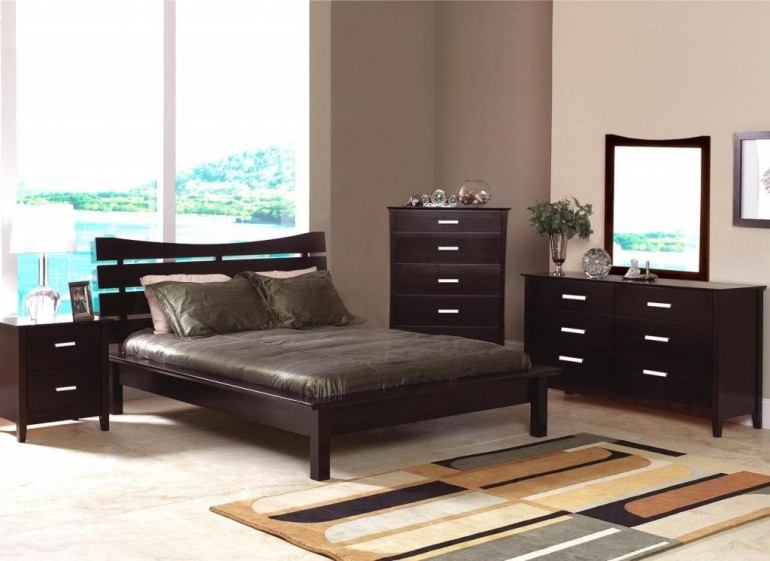 elegant darkish wooden furnitures set as correctly board glasses window engaging queen bed head board rug
