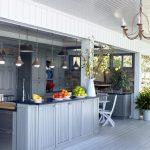 elegant White Wooden Eating Desk Set Also Classic Chandelier Interesting Outdoor Kitchen Design beautiful Kitchen Island Under Basic Pendant Lamp