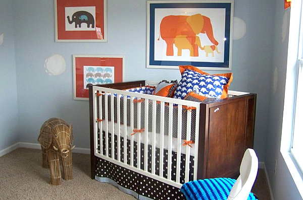 Inspiring Baby Nursery Themes For Your Limited Spaces