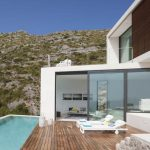 elegant  swimming pool Flooring Mountain view In The Close to Natural Swimming Pool Design beautiful Sleeper Sofa