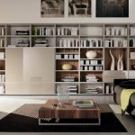 excellent Wall Ideas With Dark Gray Material Couch Plus Picket Low Table On Brown Rug Including Picket Ground Superior Massive Residing Room Furniture Storage Design