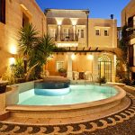 five star hotel in green with gorgeous classic design also wonderful light cream wall decal also interesting half round pool with hardstone deck and wonderful tropical plant