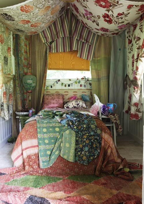 Floral Wide Curtain Stripes Curtain Patchworked Curtain Floral Bedspread  Green Bedspread Green Floral Lantern White Steel