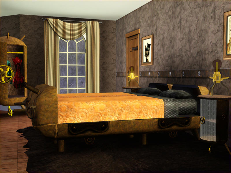Exceptional or maybe creepy steampunk bedroom ideas for your bedroom homesfeed - Steampunk bedroom ideas ...