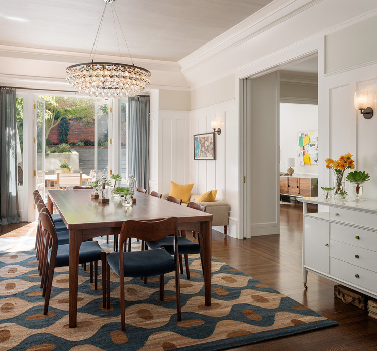 Useful Tips for Choosing Right Rug for Dining Room - HomesFeed
