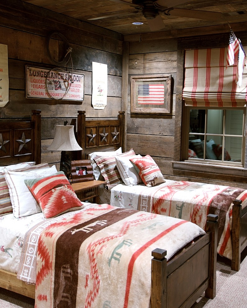 Interesting Double Teak Wood Bed Interesting Americal Wall Frame Woderful  Red Bedcover Hard Wooden Ceiling Ideas