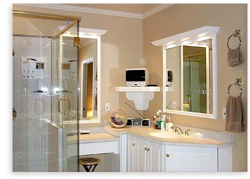 ideas on how to make luxurious bathroom for small space