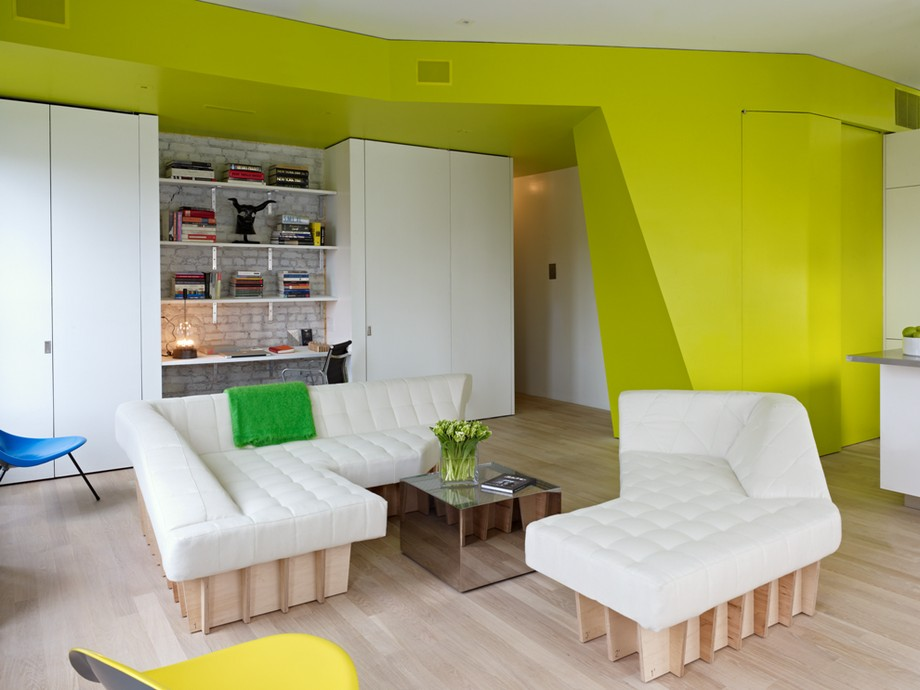 Apartment In New York Offering Fresh and Colorful Design ...
