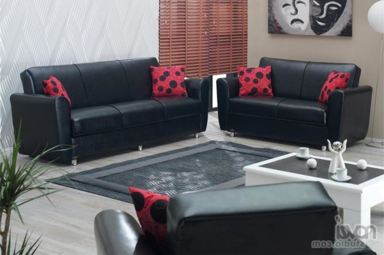 Cheap living room furniture sets do not compromise with for Cheap black living room furniture