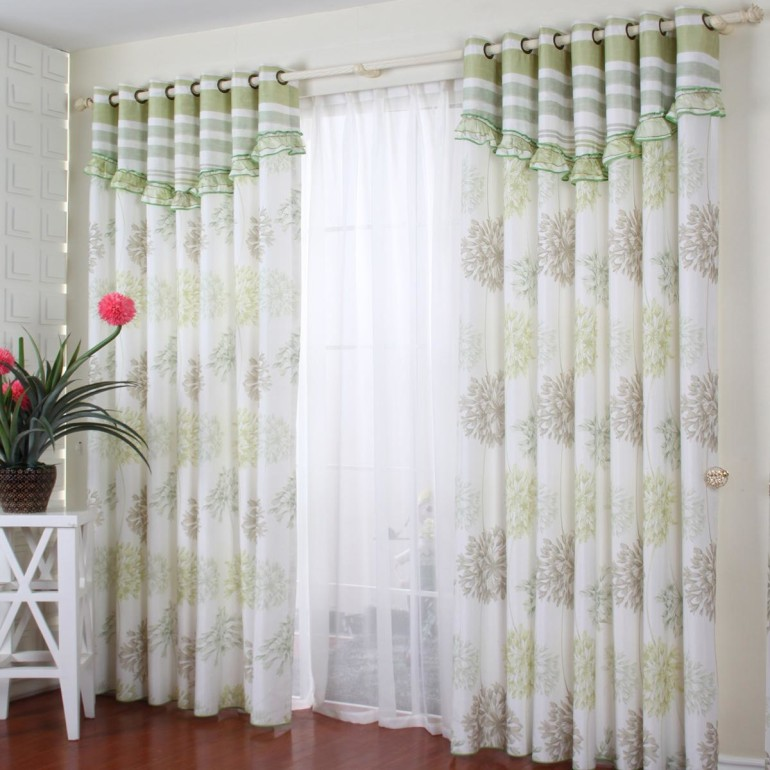 Consider your room theme decor with bedroom curtain ideas for White curtains design ideas