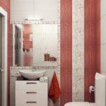 luxury Small Modern Lavatory Design Pink White Bathroom Decor The Small Space Sample Design Inspiration
