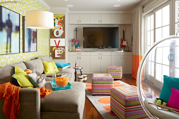 Cool Hangout Lounge for Your Boy and Girls Teen HomesFeed