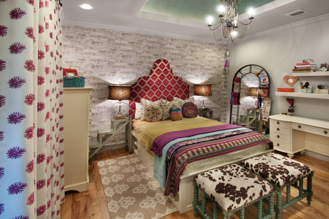 Unusual ways to decorate teen bedroom homesfeed for Bedroom bed decoration