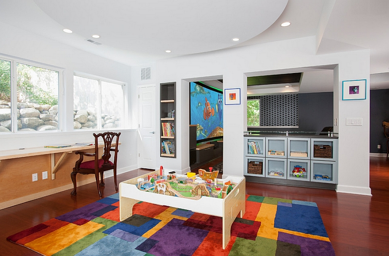 Transforming Your Basement Room Into Kids Playroom Why