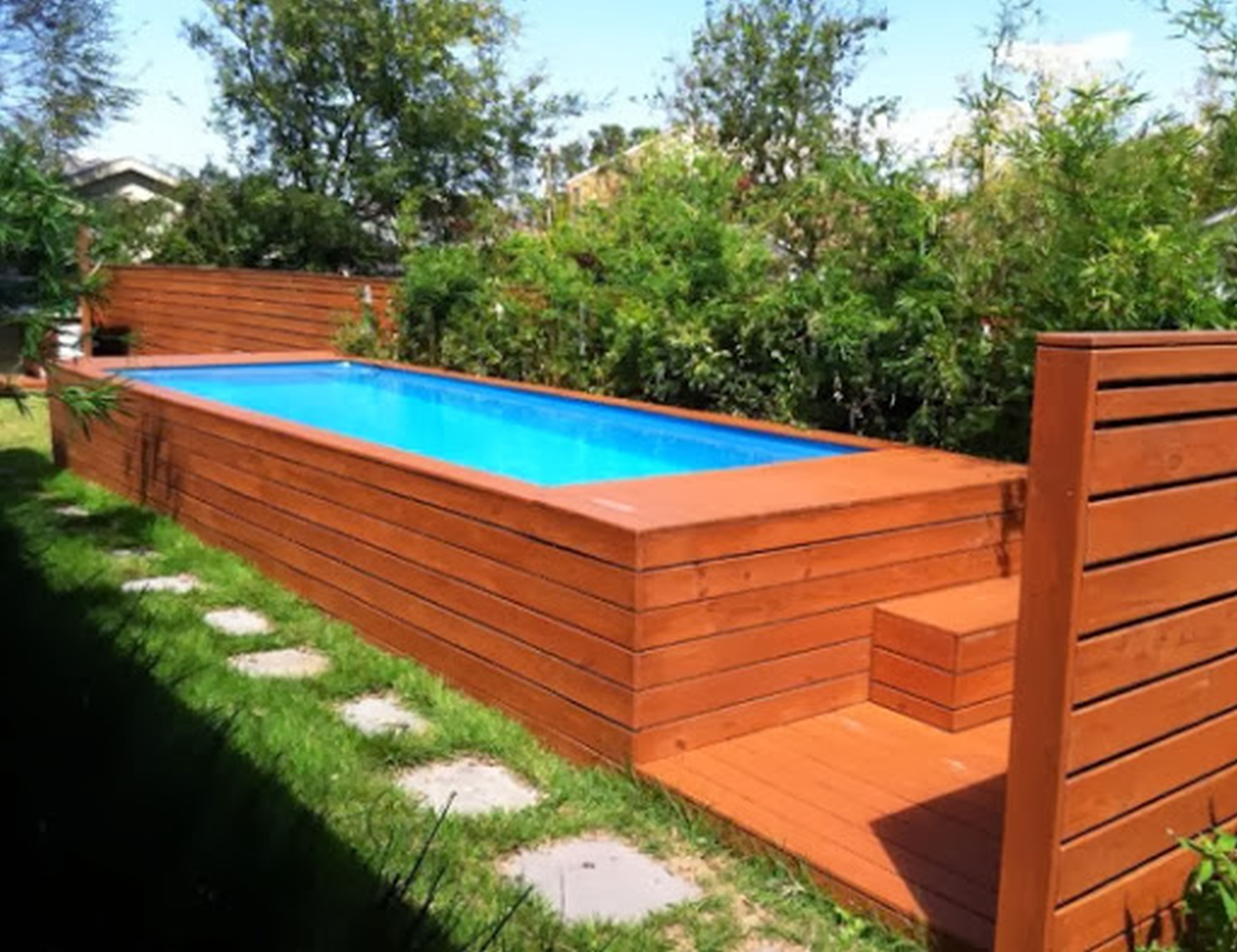 Ideas For Small Backyard Pools Ideas Best Home And House