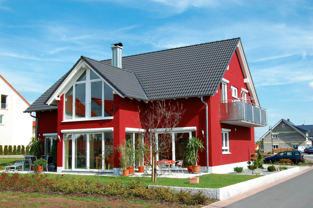 Selecting the right color for house exterior find the for Modern painted houses pictures