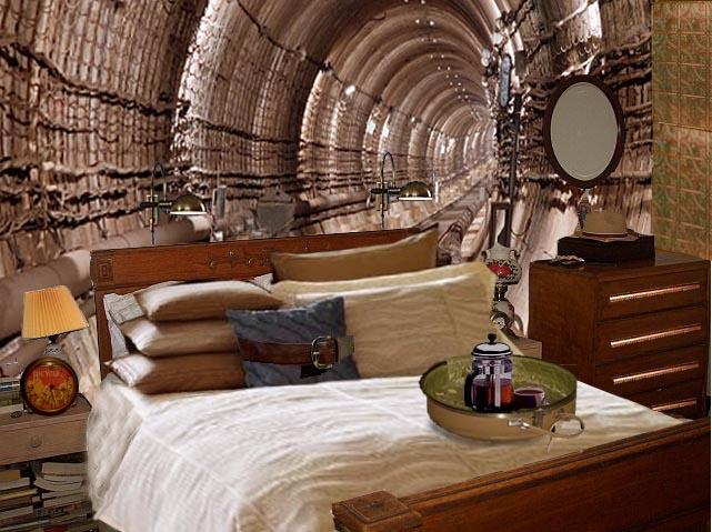 Exceptional or maybe creepy steampunk bedroom ideas for for Steampunk living room ideas