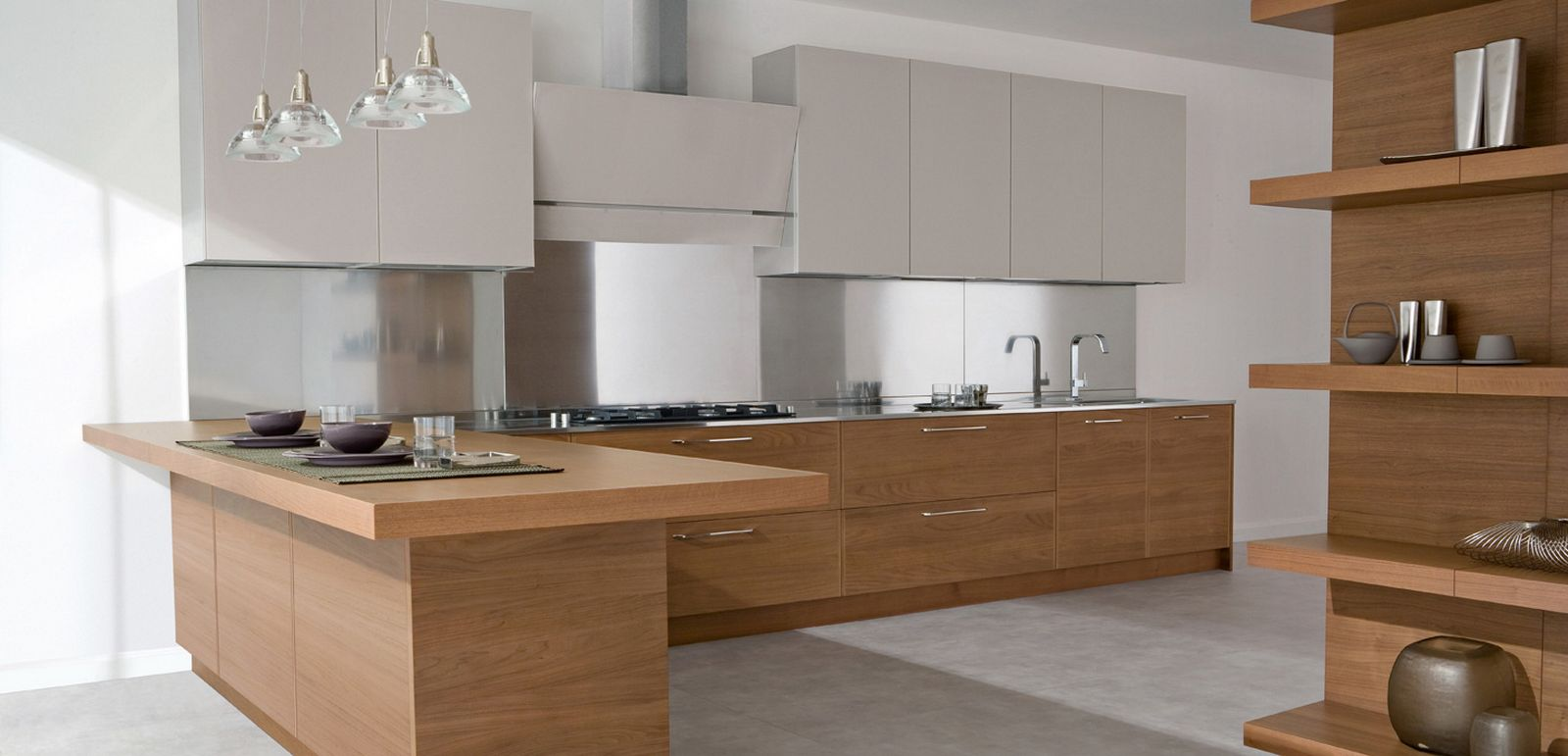 Simple but hot trends of modern kitchen homesfeed for Modern kitchen looks